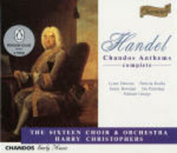 Chandos Anthems Box - CD Audio di Georg Friedrich Händel