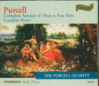 Sonate complete - CD Audio di Henry Purcell