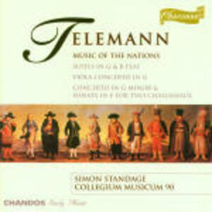 Music of Nations - CD Audio di Georg Philipp Telemann
