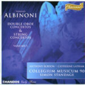 Concerti doppi per oboe - CD Audio di Tomaso Giovanni Albinoni