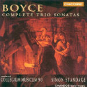 Sonate a tre - CD Audio di William Boyce