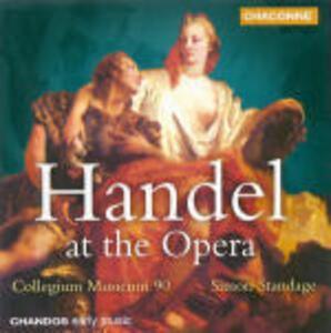 Händel at the Opera - CD Audio di Georg Friedrich Händel,Simon Standage,Collegium Musicum 90
