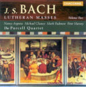 Lutheran Masses vol.2 - CD Audio di Johann Sebastian Bach