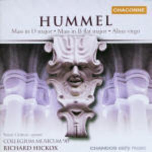 Messe op.11, op.77 - CD Audio di Johann Nepomuk Hummel