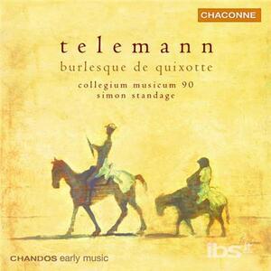 Ouvertures - CD Audio di Georg Philipp Telemann,Simon Standage,Collegium Musicum 90