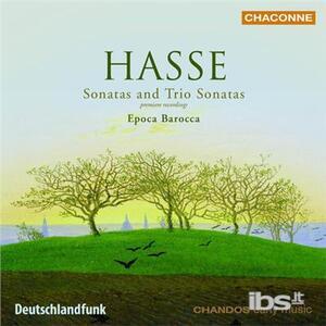 Sonate a tre - CD Audio di Johann Adolph Hasse