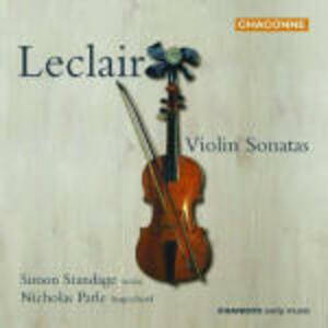 Sonate per violino - CD Audio di Jean-Marie Leclair