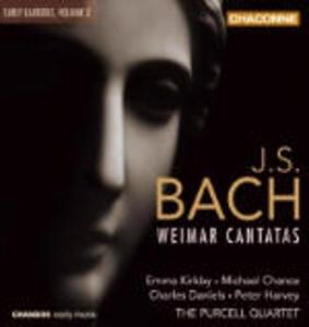 Cantate di Weimar - CD Audio di Johann Sebastian Bach,Emma Kirkby,Michael Chance,Charles Daniels,Peter Harvey,Purcell Quartet
