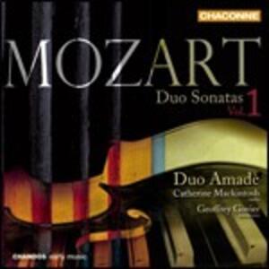 Sonate a due vol.1 - CD Audio di Wolfgang Amadeus Mozart,Geoffrey Govier,Catherine Mackintosh