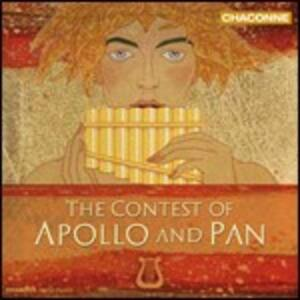 The Constest of Apollo and Pan - CD Audio di Apollo & Pan