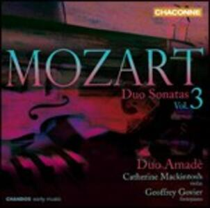 Sonate a 2 K376, K378, K526 - CD Audio di Wolfgang Amadeus Mozart,Duo Amadè