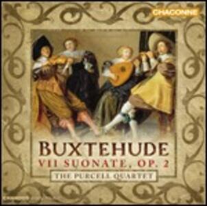 Sonate a tre op.2 - CD Audio di Dietrich Buxtehude,Purcell Quartet