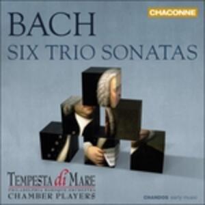 6 Sonate a 3 Bwv525-530 - CD Audio di Johann Sebastian Bach