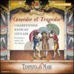 Comédie et tragédie vol.2 - CD Audio di Jean-Philippe Rameau,Marc-Antoine Charpentier,Jean-Marie Leclair