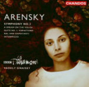 Sinfonia n.2 - A Dream on the Volga - Suite n.3 - Intermezzo - CD Audio di Anton Stepanovich Arensky,BBC Philharmonic Orchestra,Vassily Sinaisky