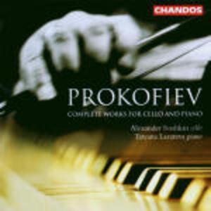 Musiche per violoncello e pianoforte - CD Audio di Sergej Sergeevic Prokofiev