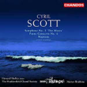 Sinfonia n.3 - Concerto per pianoforte n.2 - CD Audio di Cyril Meir Scott
