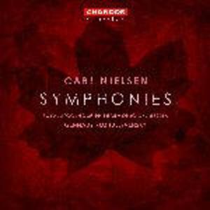 Sinfonie complete - CD Audio di Carl August Nielsen,Royal Stockholm Philharmonic Orchestra,Gennadi Rozhdestvensky