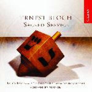 Sacred Service - CD Audio di Ernest Bloch