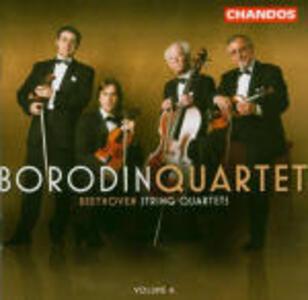 Quartetti per archi vol.4 - CD Audio di Ludwig van Beethoven,Borodin String Quartet