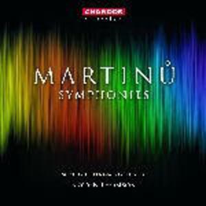 Sinfonie complete - CD Audio di Bohuslav Martinu,Royal Scottish National Orchestra,Bryden Thomson