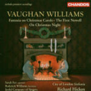Fantasia On Christmas Carols - On Christmas Night - The First Novel - CD Audio di Ralph Vaughan Williams