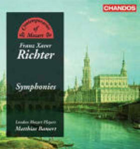 Sinfonie n.56, n.53, n.29, n.52, n.43 - CD Audio di Franz Xaver Richter,Matthias Bamert,London Mozart Players