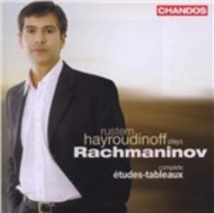 Etudes-Tableaux op.33, op.39 - CD Audio di Sergej Vasilevich Rachmaninov