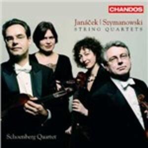 Quartetti per archi n.1, n.2 / Quartetti per archi n.1, n.2 - CD Audio di Leos Janacek,Karol Szymanowski