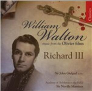 Richard III - CD Audio di Neville Marriner,William Walton,Catherine Bott,Academy of St. Martin in the Fields