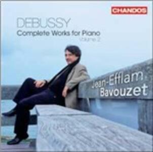 Musica per pianoforte vol.2 - CD Audio di Claude Debussy,Jean-Efflam Bavouzet
