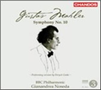 Sinfonia n.10 - CD Audio di Gustav Mahler,BBC Philharmonic Orchestra,Gianandrea Noseda
