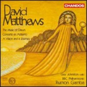 The Music of Down - Concerto in azzurro - A Vision and a Journey - CD Audio di BBC Philharmonic Orchestra,Rumon Gamba,Guy Johnston,David Matthews