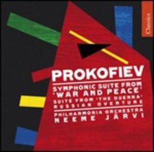 Guerra e pace - CD Audio di Sergej Sergeevic Prokofiev