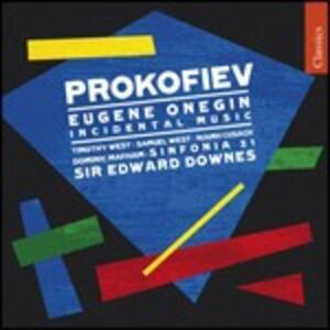 Eugene Onegin - CD Audio di Sergej Sergeevic Prokofiev,Sir Edward Downes