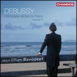 Musica per pianoforte vol.5 - CD Audio di Claude Debussy,Jean-Efflam Bavouzet