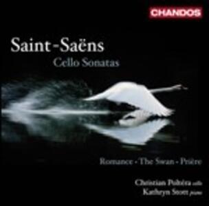 Sonate per violoncello - CD Audio di Camille Saint-Saëns,Christian Poltera