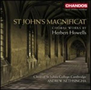 Magnificat - Opere corali - CD Audio di St. John's College Choir,Herbert Howells