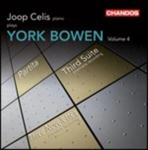 Musica per pianoforte vol.4 - CD Audio di Joop Celis,York Bowen