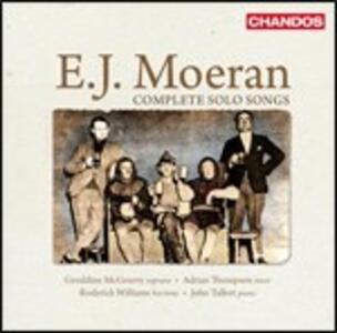 Musica per voce e pianoforte completa - CD Audio di Ernest John Moeran