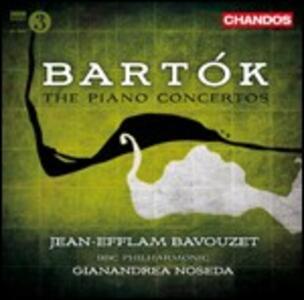 Concerti per pianoforte n.1, n.2, n.3 - CD Audio di Bela Bartok,BBC Philharmonic Orchestra,Gianandrea Noseda,Jean-Efflam Bavouzet
