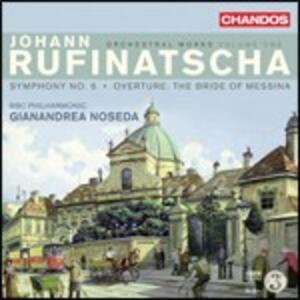 Musica orchestrale vol.1 - CD Audio di BBC Philharmonic Orchestra,Gianandrea Noseda,Johann Rufinatscha