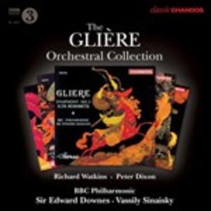 Musica orchestrale - CD Audio di Reinhold Moricevic Glière