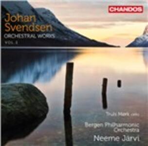 Opere orchestrali vol.2 - CD Audio di Neeme Järvi,Johan Severin Svendsen,Truls Mork,Bergen Philharmonic Orchestra