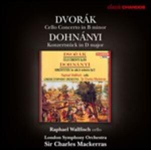 Musica per violoncello e orchestra - CD Audio di Antonin Dvorak,Erno Dohnanyi,Sir Charles Mackerras,London Symphony Orchestra