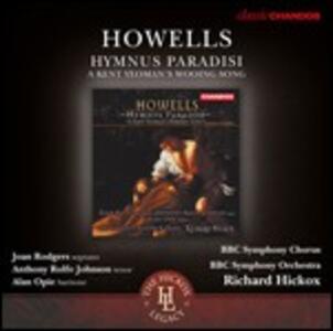 Hymnus Paradisi - CD Audio di Richard Hickox,BBC Symphony Orchestra,Herbert Howells