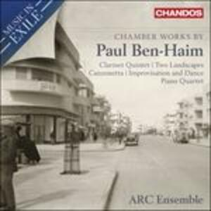 Musica da camera - CD Audio di Paul Ben-Haim,Arc Ensemble
