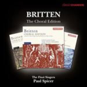 The Choral Edition - CD Audio di Benjamin Britten,Finzi Singers