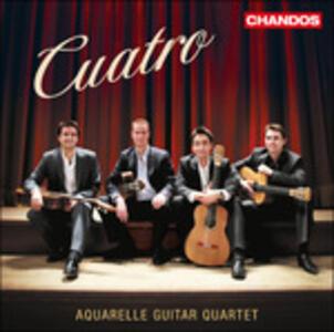 Musica per quartetto di chitarre - CD Audio