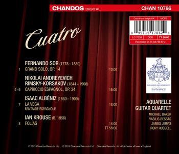 Musica per quartetto di chitarre - CD Audio - 2
